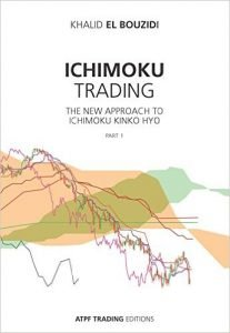 photo of the book Ichimoku trading the new approash to ichimoku kinko hyo part 1 by khalid el bouzidi